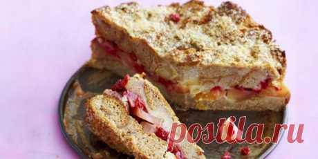 (+2) Шарлотка с яблоками и брусникой : Выпечка : Кулинария : Subscribe.Ru