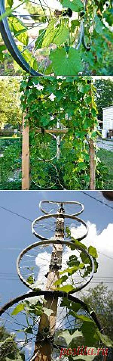 Application of bicycle wheels on your wheelbarrow
