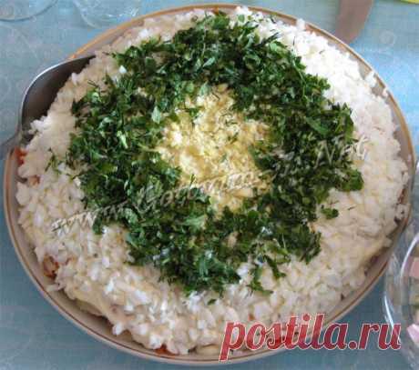 Салат с курицей и грибами - рецепт салата с фото