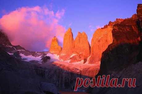 Торрес-дель-Пайне (исп. Torres del Paine) — национальный парк в Чили