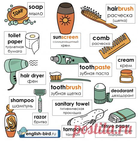 Ванная комната на английском: слова и фразы для описания