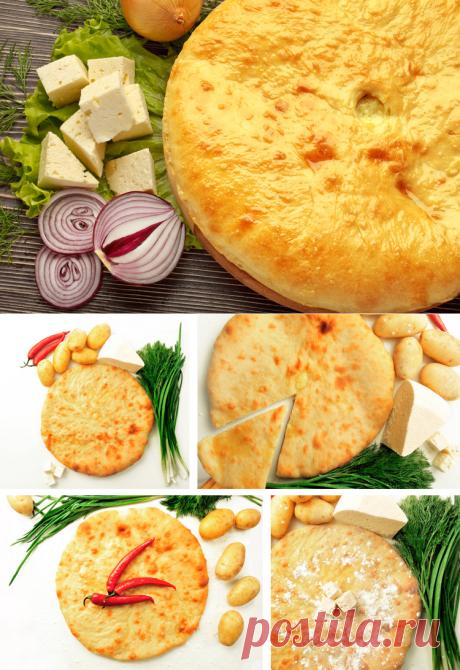 Los pasteles osetios – las recetas, el relleno, testo para el pastel osetio, los consejos   Mágico Eда.ру