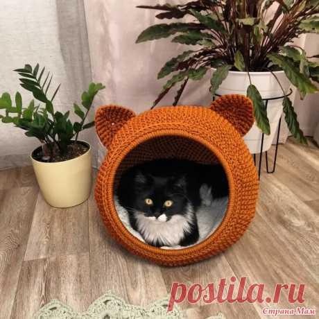 Дом для кота - Вязание - Страна Мам