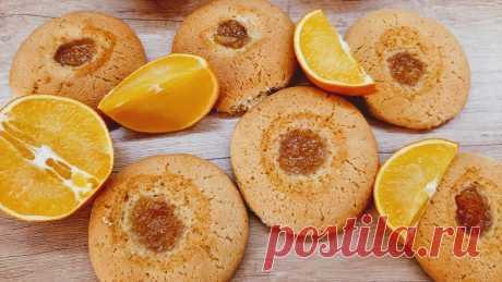 Апельсиновые печенья. Пошаговый рецепт с фото - InVkus