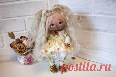 Blue-eyed baby from natural materials. A wonderful gift for any occasion. **************************************** Голубоглазая малышка из натуральных материалов. Прекрасный подарок для любого праздника. ****************************************  https://www.etsy.com/shop/DushechkiDoLLs?ref=seller-platform-mcnav  https://www.instagram.com/dushechkidolls/