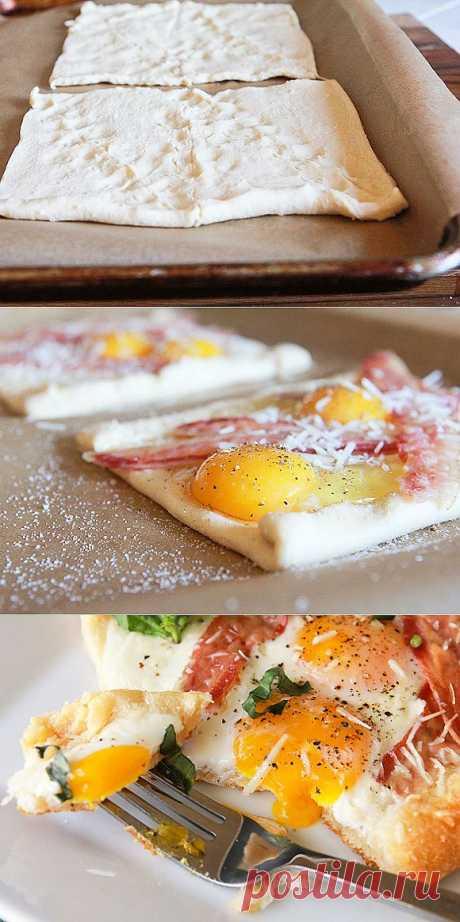 InVkus: Горячая выпечка к завтраку за 15 минут. Утро добрым не бывает? Даже не думайте об этом. Главное - как его начать. Если завтрак был вкусным и душевным, вы с легкостью воплотите все задуманное и даже больше. Вот простой пошаговый рецепт конвертов с сыром и яйцом. Сытные, симпатичные, чтобы их приготовить понравится не больше 15 минут.