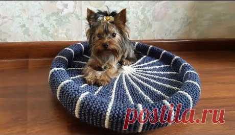 Корзинка (лежанка) для собачки видеоhttps://youtu.be/bi96VIrwxyc