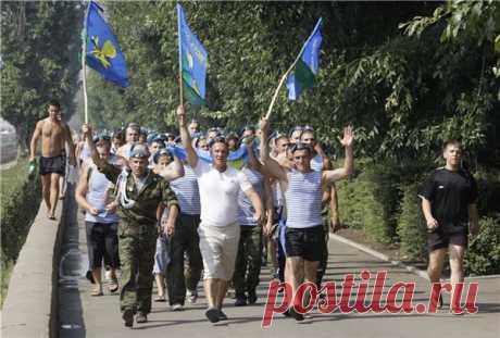 Краснодар готов к празднованию Дня ВДВ 82-я годовщина празднования Дня воздушно-десантных войск пройдет без традиционного купания в