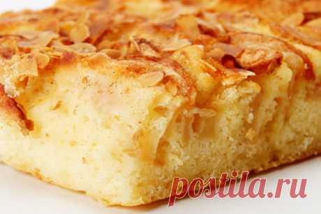 Вкуснейший постный яблочный пирог