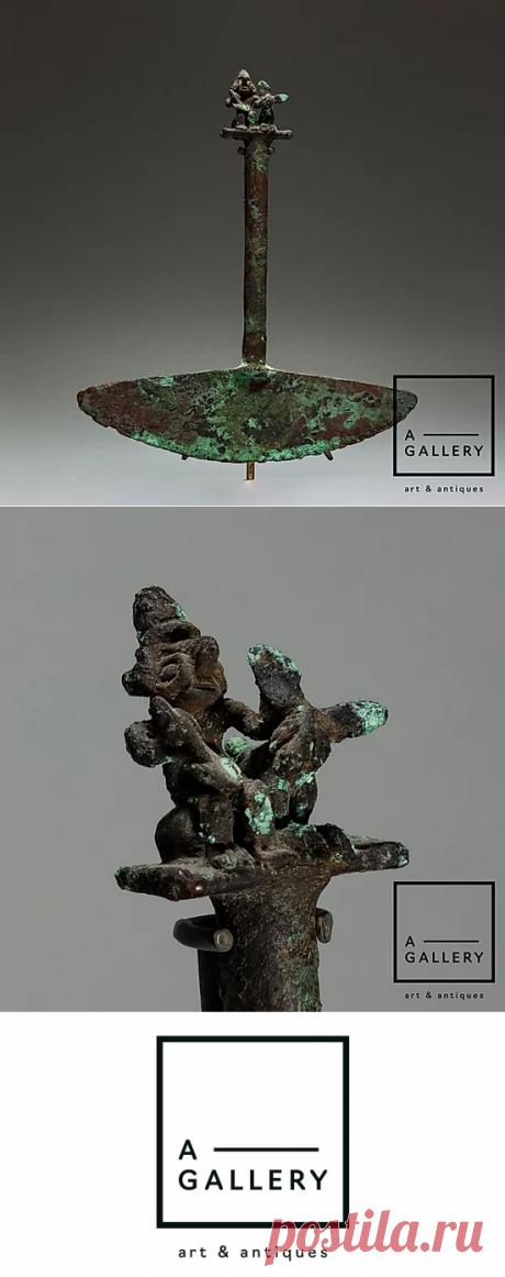 Туми (ритуальный нож), культура Моче (500-750 гг. н.э.)