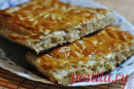 Пирог с капустой из необычного теста - просто, вкусно и оригинально | СТРЯПУХА | Яндекс Дзен