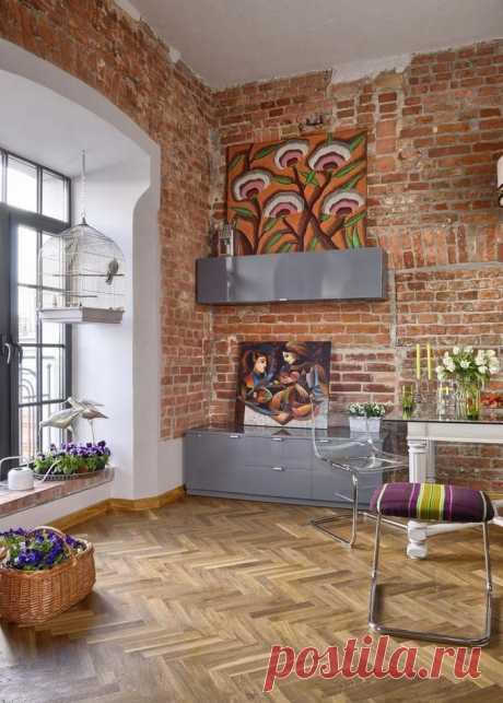 Яркий интерьер квартиры 33 кв - Дизайн интерьеров | Идеи вашего дома | Lodgers