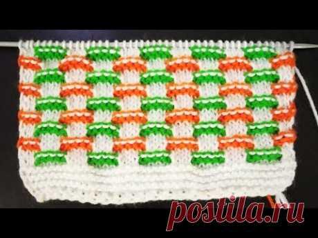 Very Beautiful Multi Colour Sweater Pattern (In Hindi)