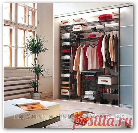 Простое решение для избавления лишней мебели: шкаф-купе!