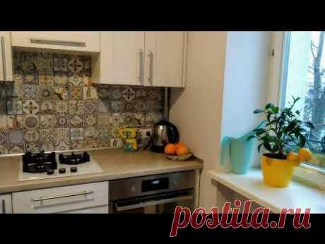 🏠 Кухня площадью 5,8 кв. метров | Кухня ЗОВ