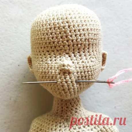 Вязаные куклы в Instagram: «Полная версия вышивки губ с пояснениями и комментариями на моем YouTube-канале smolly_dolls. Сюда размещаю краткую версию. Потратила на это…»