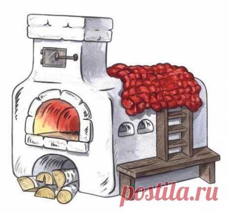 Рисуем печь
