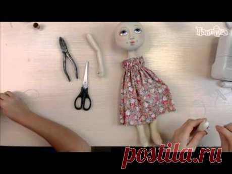 Часть 3. Кукла своими руками. Создание куклы Эльза