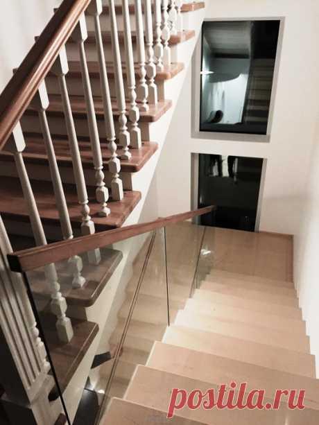 Изготовление лестниц, ограждений, перил Маршаг – Ограждения из стекла и дерева