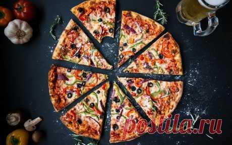 Быстрая и вкусная пицца за 30 минут в домашних условиях — Вкусные печенки