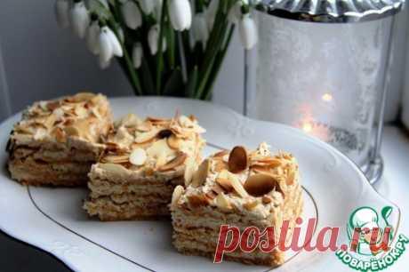 Миндальный торт Еллен Свинхуфвуд - кулинарный рецепт