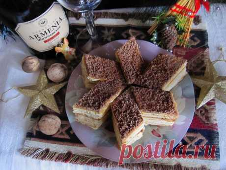 Вкуснейший армянский торт «Микадо» — пошаговый рецепт с фото