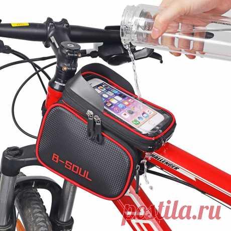 226.89руб. 46% СКИДКА|4 вида велосипедных сумок, велосипедная Передняя сумка для телефона с сенсорным экраном, сумка для горного велосипеда с верхней трубкой, велосипедная сумка для велосипеда-in Сумки и корзины для велосипеда from Спорт и развлечения on AliExpress  Покупай умнее, живи веселее! Aliexpress.com