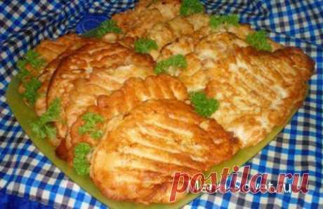 Вкусные куриные отбивные в кляре