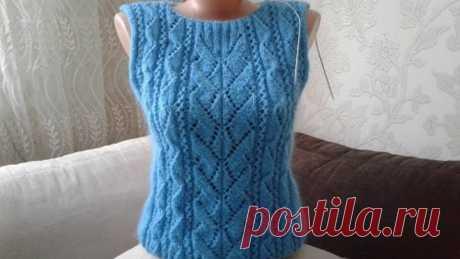 """Свитер """"Геометрия"""". Часть 4. Кnit sweater."""