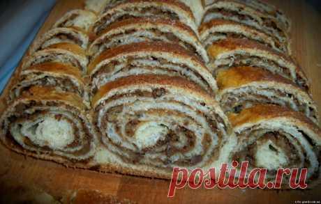 Рулет с орехами - как приготовить, рецепт с фото — Кулинарный блог Life Good