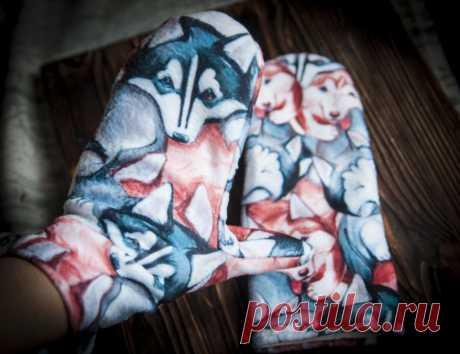 Как сшить зимние теплые рукавички из одной детали. Быстро и просто | Рекомендательная система Пульс Mail.ru