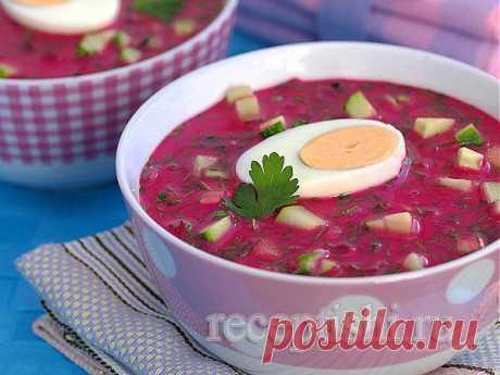 Холодник (хладник) со свеклой | Кулинарные рецепты с фото на Рецептыши.ру