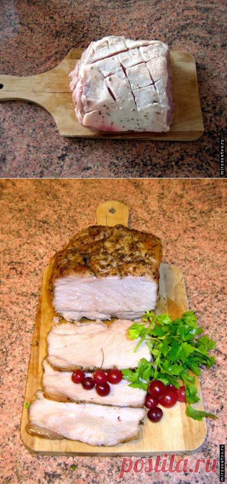 Некоторые секреты запекания мяса в фольге...