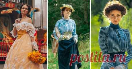 Украинка, надевающая ретро-одежду, покорила соцсети Жительница Винницы по имени Мила стала очень популярной в Сети, благодаря своему необычному стилю. Девушка одевается в винтажные платья, белье и корсеты эдвардианской эпохи, которые шьет самостоятельно.