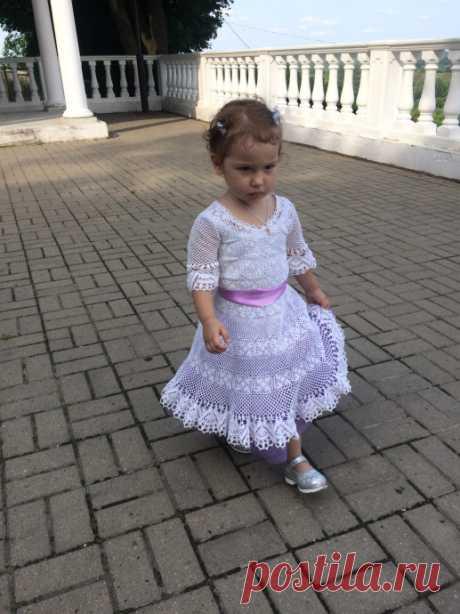 Платье для принцессы из категории Конкурсы, Мой вязаный шедевр – Вязаные идеи, идеи для вязания