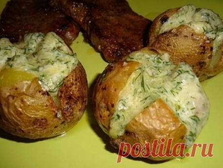 Картофель запеченный, нереально вкусный! | вкусный блог | Яндекс Дзен