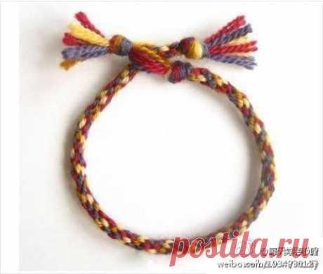 Японский шнурок Кумихимо