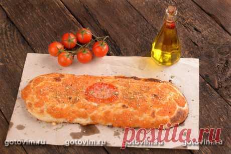 Сицилийская пицца Сфинчионе