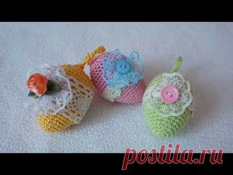DIY Easter eggs crochet \/ Gift idea