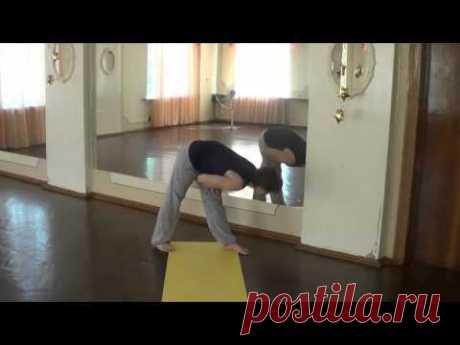 8 минут для здоровья спины (гимнастика)