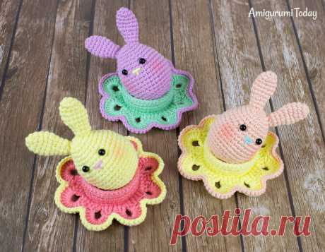 Easter bunny egg crochet pattern - Amigurumi Today