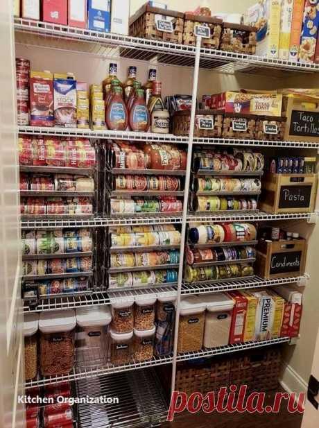 DIY Kitchen Organization Ideas #kitchendiy #kitchenorganise