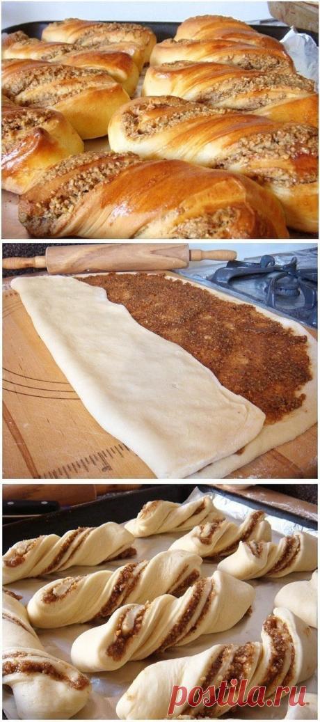 Как приготовить ореховые булочки - рецепт, ингридиенты и фотографии