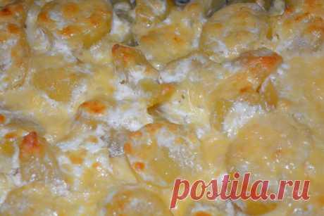 Вкуснейший гарнир из мелкой картошки – проще еще надо поискать | Кастрюлька | Яндекс Дзен