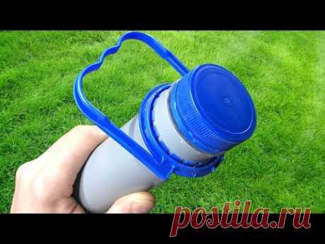 Секрет пластиковой Трубы! Полезная идея из пластиковой трубы!