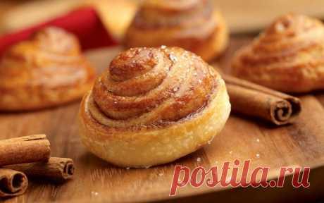 Булочки с корицей — Sloosh – кулинарные рецепты