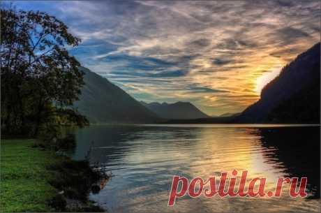Завораживающая красота озера Сильвенштайн в Баварии, Германия
