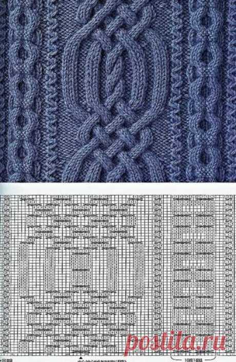 Вязание на спицах узоров - Вязание спицами, модели и схемы для вязания на спицах