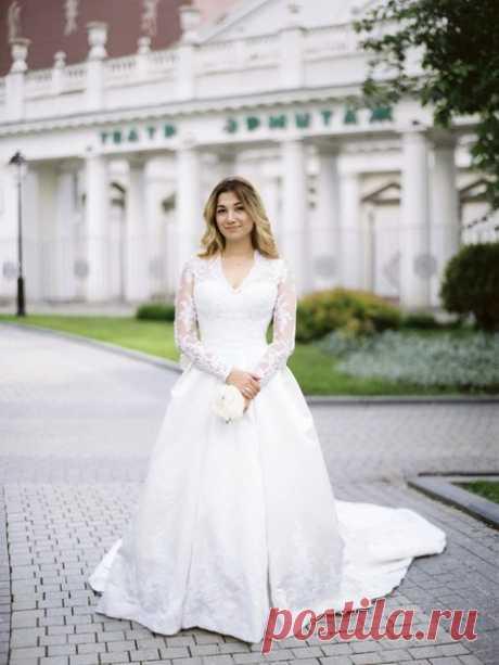 Платья с длинными рукавами - так элегантно и женственно 💖 Ставьте лайк, если согласны 🌸