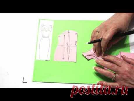 Моделирование со Светланой Поярковой: Кокетка отрезная над грудью